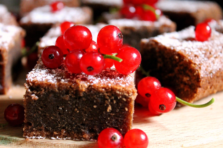 Brownie zporzeczkami