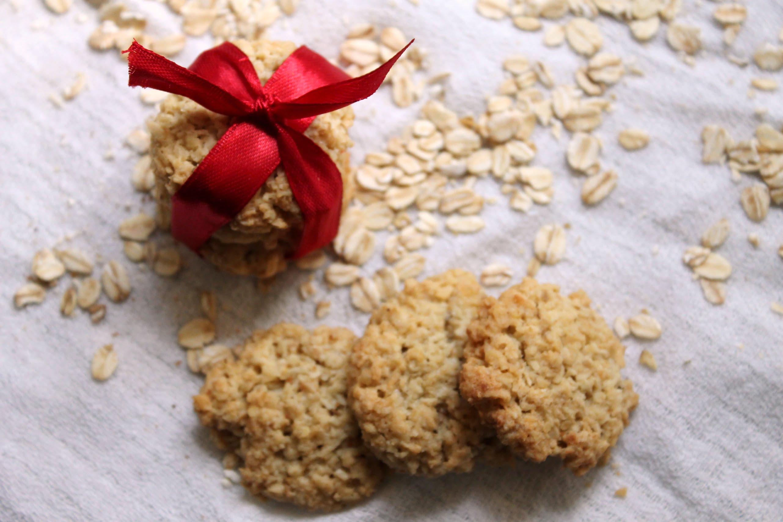 Ciasteczka owsiane zkokosem