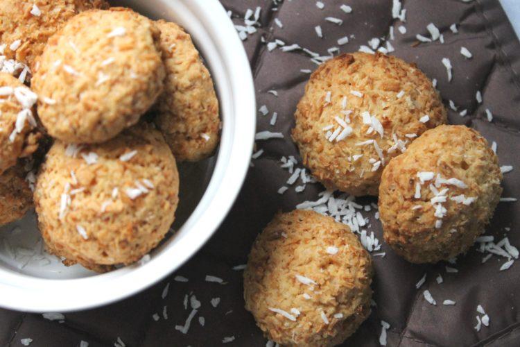 Kokosowe ciasteczka, idealne na święta