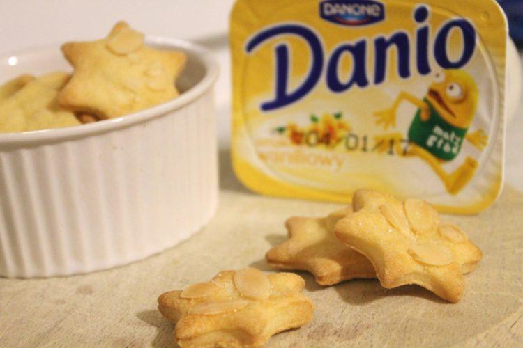 Ciasteczka z serkiem Danio
