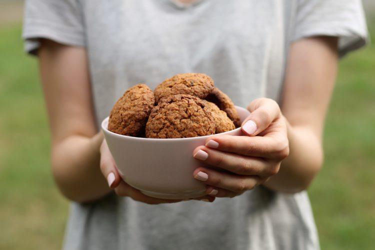 Kruche, zdrowe i z czekoladą – ciasteczka!
